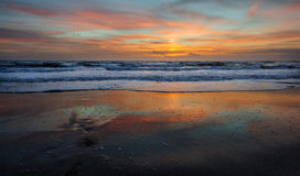 Sunrise over Cocoa Beach Royalty Free Stock Images