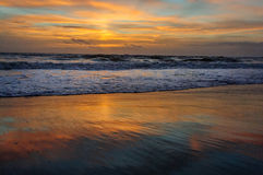 Sunrise over Cocoa Beach Royalty Free Stock Photos