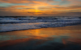 Sunrise over Cocoa Beach Stock Photography