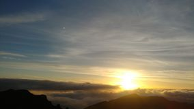 Sunrise over Haleakala Volcano royalty free stock photography