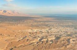 Sunrise over the Dead Sea Royalty Free Stock Photos