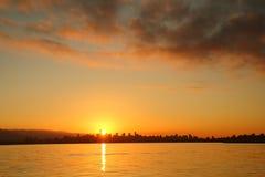 English Bay Sunrise, Vancouver, Canada Stock Photography