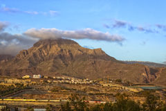 Sunrise over El Teide National Park, Tenerife, Canary Islands, S Royalty Free Stock Images