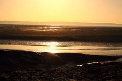 Sunrise over estuary A Royalty Free Stock Photo