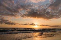 Sunrise over Gold Coast, Queensland Royalty Free Stock Photo