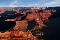Sunrise over Grand Canyon Royalty Free Stock Photo