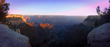 Sunrise over the Grand Canyon Royalty Free Stock Images