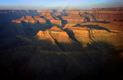 Sunrise over the Grand Canyon Royalty Free Stock Photo