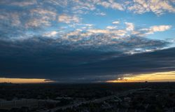 Sunrise Over Greater Toronto Area royalty free stock photo