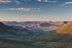 Sunrise over the Grootberg plateau Royalty Free Stock Photo