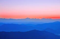 Sunrise over himalaya Royalty Free Stock Photography