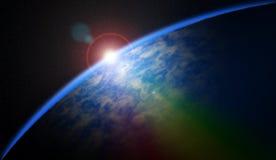 Cosmic sunrise Stock Image
