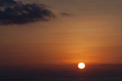 Sunrise over Hurd's Bank Royalty Free Stock Photos