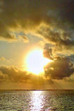 Sunrise over the Indian Ocean Stock Photography