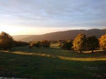 Sunrise over the Jura Royalty Free Stock Photo