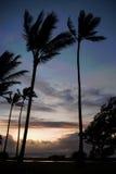 Sunrise over Kauai, Hawaii Stock Photography