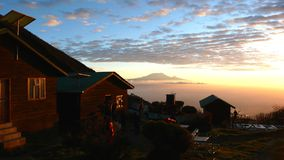 Kilimanjaro Sunrise Royalty Free Stock Photo