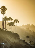 Laguna Beach Cliffs Sunrise. Sunrise over Laguna Beach Cliffs Royalty Free Stock Image