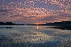 Sunrise Over Lake Royalty Free Stock Photos