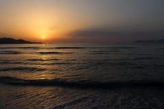 Sunrise over Majorca