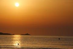 Sunrise over Majorca Royalty Free Stock Photography