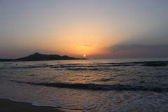 Sunrise over Majorca Stock Photos
