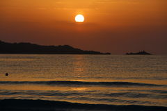 Sunrise over Majorca Stock Image