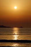 Sunrise over Majorca Royalty Free Stock Image