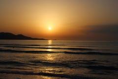 Sunrise over Majorca Stock Photos