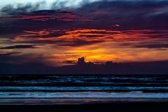 Free Sunrise Over Mantzas Beach Royalty Free Stock Photo - 184372355