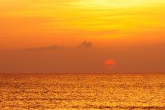 Sunrise over Miami, FL, USA Royalty Free Stock Images