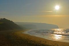 Free Sunrise Over Misty Bay Stock Images - 80993434