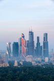 Sunrise over Moscow Royalty Free Stock Images
