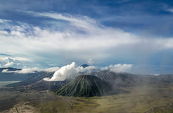 Sunrise over Mount Bromo royalty free stock image
