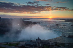 Sunrise over Niagara Stock Photos