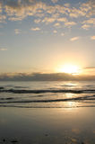 Sunrise Over Ocean at Cairns, Australia Royalty Free Stock Photo