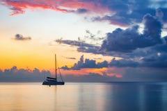 Sunrise over ocean Stock Images