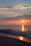 Sunrise Over Ocean Royalty Free Stock Photography