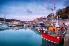 Sunrise Over Padstow Harbour Royalty Free Stock Image