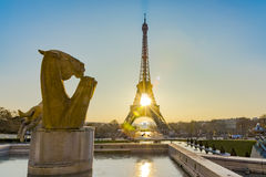 Sunrise over Paris Stock Photography