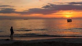 Sunrise over Punta Cana Royalty Free Stock Photo