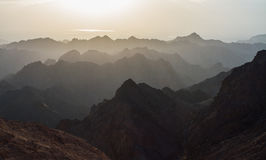 Sunrise over Red sea Royalty Free Stock Photos