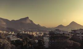 Sunrise over Rio de Janeiro Stock Photos