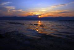 Sunrise over river Stock Image