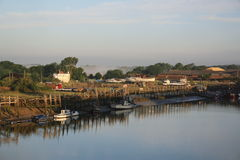 Sunrise over the River Arun Stock Photography