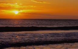 Sunrise over the sea Stock Image