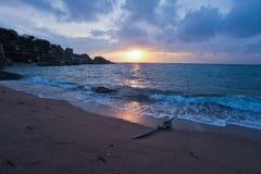 Sunrise over sea Stock Photography