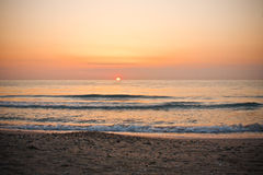 Sunrise over sea Stock Image