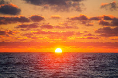 Sunrise over sea Royalty Free Stock Photography
