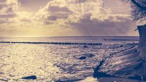 Sunrise over the sea Royalty Free Stock Photo